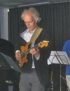 gitarist Hans Kunneman